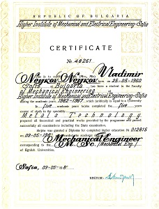 Master of Science May 1988